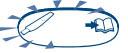 мигающий символ теста клеарблю