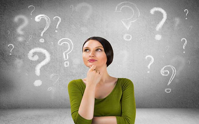 Женщину беспокоит вопрос