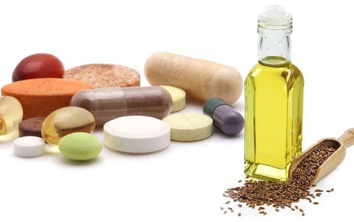 Витамины и льняное масло