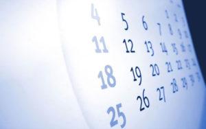Определение овуляторного периода календарным методом